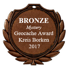 BRONZE (Mystery) - Geocaching Award Kreis Borken 2017